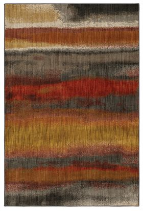 Karastan Rugs Elements Odin Multi Gun Metal