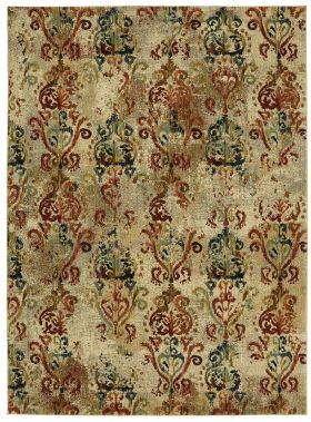 Karastan Rugs Elements Wile Multi Cream