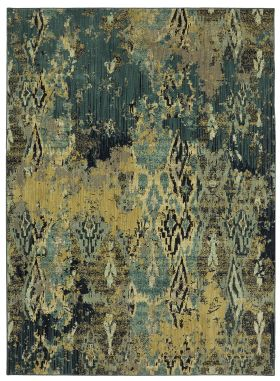 Karastan Rugs Elements Captivate Indigo