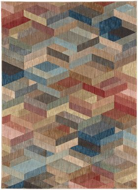 Karastan Rugs Elements Ignite Multi
