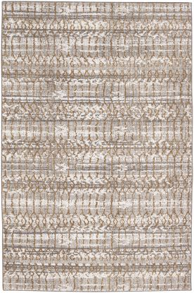 Karastan Rugs Cosmopolitan Flirt Brushed Gold by Patina Vie Antique White