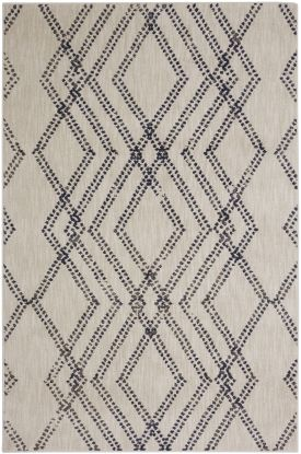 Karastan Rugs Cosmopolitan French Affair Ink Blue by Patina Vie Antique White
