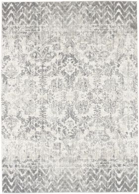 Karastan Rugs Touchstone Le Jardin Willow Grey by Patina Vie Natural Cotton