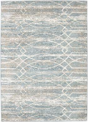 Karastan Rugs Touchstone Debonair Jadeite by Virginia Langley Bone White