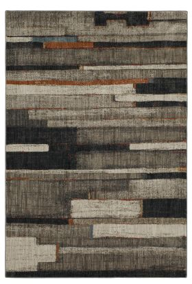 Karastan Rugs Elements Compose Charcoal Oyster