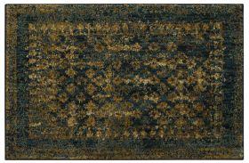 "Karastan Rugs Spice Market Faded Arabesque Sapphire by Patina Vie 2'0"" x 3'0"" Scatter"