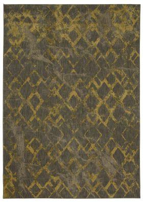 Karastan Rugs Cosmopolitan Quartz Brushed Gold by Patina Vie Smokey Grey
