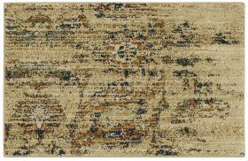 "Karastan Rugs Spice Market Arosea Gold by Virginia Langley 2'0"" x 3'0"" Scatter"