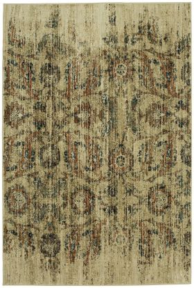 "Karastan Rugs Spice Market Arosea Gold by Virginia Langley 2'0"" x 3'0"" Scatter"