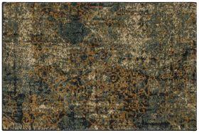 "Karastan Rugs Spice Market Luciano Aquamarine by Virginia Langley 2'0"" x 3'0"" Scatter"