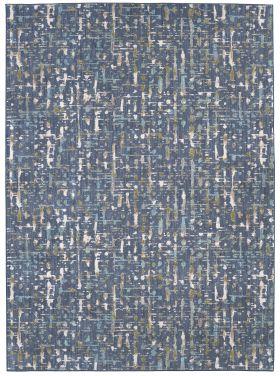 Karastan Rugs Expressions Wellspring Admiral Blue by Scott Living