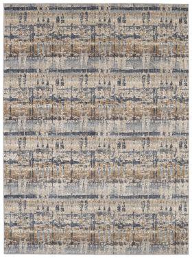 Karastan Rugs Expressions Kaleidoscopic Denim by Scott Living