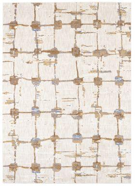 Karastan Rugs Artisan Mirage Brushed Gold by Scott Living Antique White