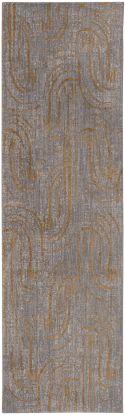 "Karastan Rugs Artisan Equilibrium Smokey Grey by Scott Living Smokey Gray 2'4"" x 7'10"" Runner"