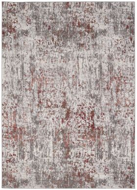 Karastan Rugs Enigma Metamorphic Clay Antique White