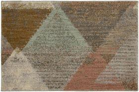 "Karastan Rugs Enigma Contempo Clay 2'0"" x 3'0"" Scatter"
