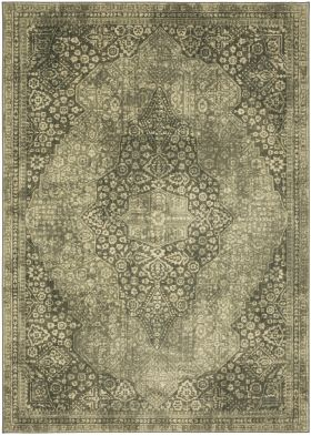 "Karastan Rugs Euphoria Ziggurat Willow Grey 3'6"" x 5'6"""