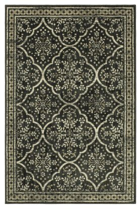"Karastan Rugs Elements Ingenue Onyx 9'6"" x 12'11"""