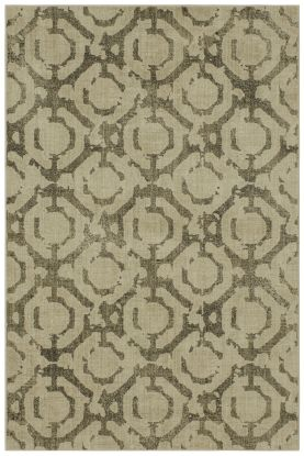 Karastan Rugs Expressions Motif Dark Linen by Scott Living