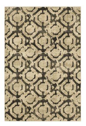 "Karastan Rugs Expressions Motif Onyx by Scott Living Oyster 9'6"" x 12'11"""