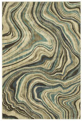 "Karastan Rugs Expressions Sediment Lagoon by Scott Living 2'0"" x 3'0"" Scatter"