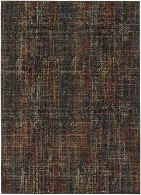 "Karastan Rugs Spice Market Mossbrae Charcoal 5'3"" x 7'10"""