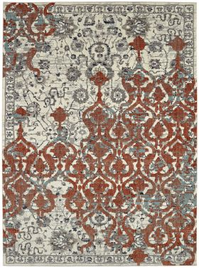 Karastan Rugs Soiree Bellini Grey Alabaster
