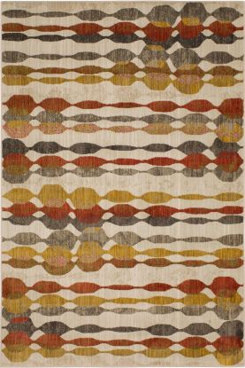Karastan Rugs Expressions Acoustic Ginger