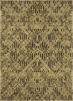 "Karastan Rugs Spice Market Angelique Charcoal 5'3"" x 7'10"""