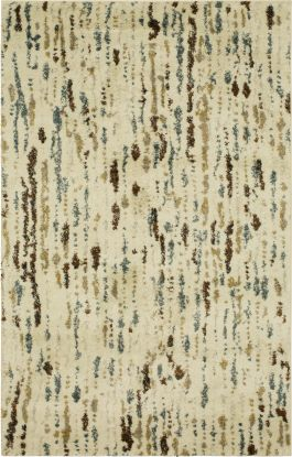 "Karastan Rugs Crescendo Barra Cream 5'0"" x 8'0"""