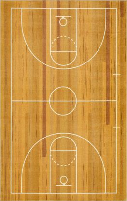 Mohawk Prismatic Basketball Court Brown