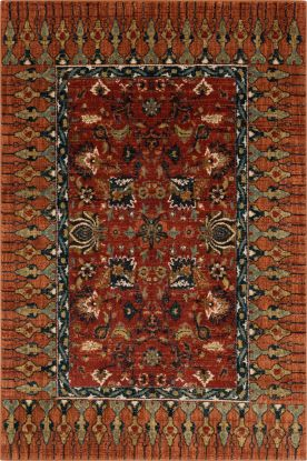 "Karastan Rugs Spice Market Bazaar Spice 3'5"" x 5'5"""