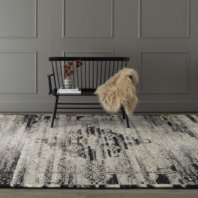 Karastan Rugs Zephyr Cella Black