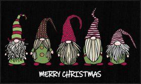 Mohawk Prismatic Christmas Gnomes Black