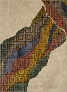 "Karastan Rugs Mosaic Cirque Multi 5'3"" x 7'10"""