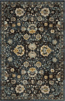 Karastan Rugs Touchstone Deveron Blue Teal