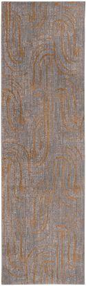 """Karastan Rugs Artisan Equilibrium Smokey Grey 2'4"""" x 7'10"""" Runner"""