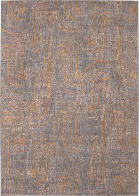 """Karastan Rugs Artisan Equilibrium Smokey Grey 5'3"""" x 7'10"""""""