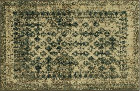 "Karastan Rugs Spice Market Faded Arabesque Cream 2'0"" x 3'0"""