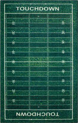 Mohawk Prismatic Football Yards Green