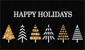 Mohawk Prismatic Holiday Trees Black