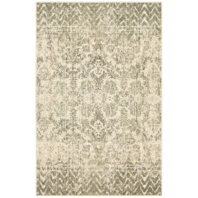 Karastan Rugs Touchstone Le Jardin Willow Grey