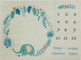 """Mohawk Milestone Rug Elephant 3'9"""" x 5'0"""""""