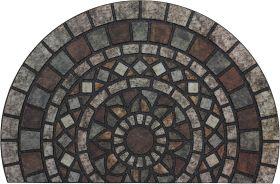 "Mohawk Doorscapes Mat Mosaic Mythos Stone Multi 1'11"" x 2'11"""