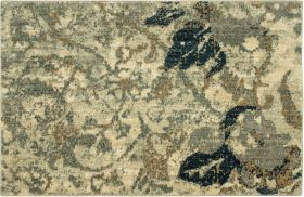 "Karastan Rugs Touchstone Romantica Willow Grey 2'0"" x 3'0"""