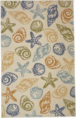 Mohawk Soho Scattered Seashells Multi
