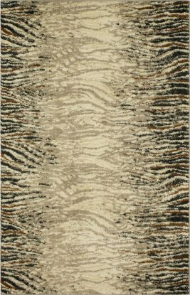 "Karastan Rugs Crescendo Serengeti Grey 8'0"" x 11'0"""