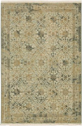 Karastan Rugs Titanium Esperance Sea Glass
