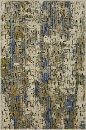 "Karastan Rugs Mosaic Tributary Aquamarine 8'0"" x 11'0"""