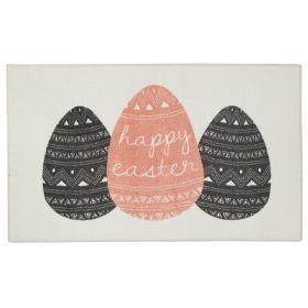 "Mohawk Prismatic Easter Eggs Cream 2'6"" x 4'2"" Scatter"